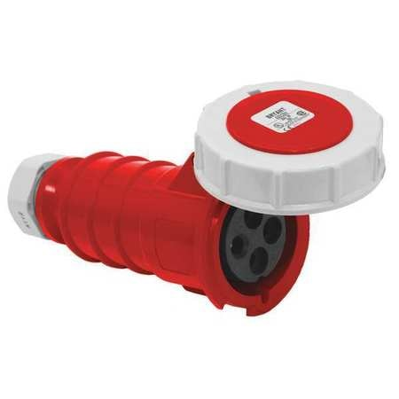 Bryant Pin and Sleeve connector, Red, 7.5 HP BRY430C7W
