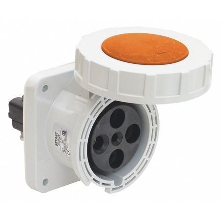 Bryant Pin and Sleeve Receptacle, 120/240VAC BRY4100R12W