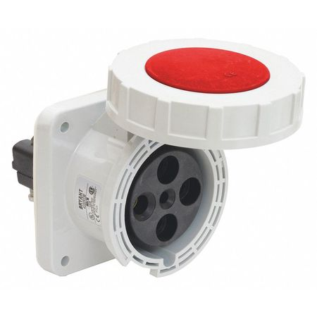 Bryant Pin and Sleeve Receptacle, 30 HP, 480VAC BRY4100R7W