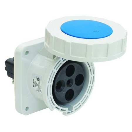 Bryant Pin and Sleeve Receptacle, 10 HP, 240VAC BRY4100R9W