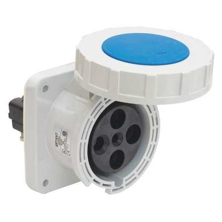 Bryant Pin and Sleeve Receptacle, 5 HP, 240VAC BRY460R9W