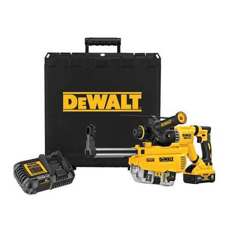 Dewalt 20V MAX* XR(R) Brushless 1-1/8 in. SDS Plus D-Handle Rotary Hammer Kit DCH263R2DH