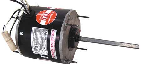 Century Condenser Fan Motor, 1/15to1/8HP, 825 rpm ORM5484BF