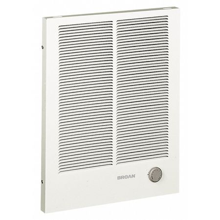 Broan Recessed Electric Wall-Mount Heater,  Recessed or Surface,  White 198