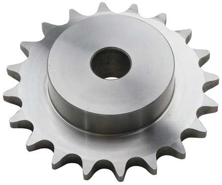 Hardened Steel 1 Stocked Bore 2 Strands 30 Teeth 1 Stocked Bore Regal Browning D50B30 Minimum Bore Double Roller Chain Sprocket