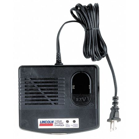 Lincoln Battery Charger, For Use with PowerLuber 1210