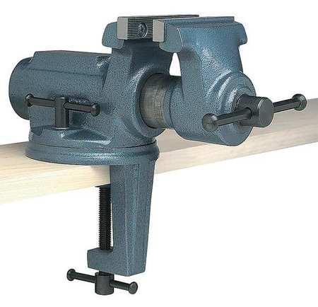 Cool 4 Light Duty Portable Bench Vise With Clamp On Swivel Base Andrewgaddart Wooden Chair Designs For Living Room Andrewgaddartcom