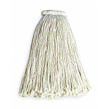 Rubbermaid Dura Pro 4-Ply Cotton/Rayon/Synthetic Blend Yarn Wet Mop,  White FGF16600WH00