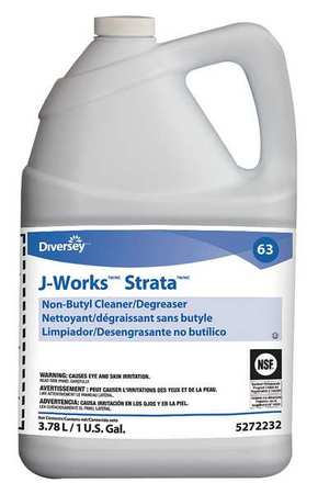 Diversey Liquid 1 gal. Cleaner and Degreaser,  Jug 95272232