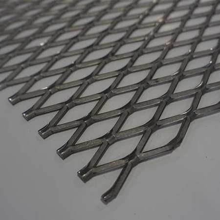 Zoro Select Expanded Sheet, Flat, Carbon, 4x4 ft, 3/4-#9 41F0759-48X48