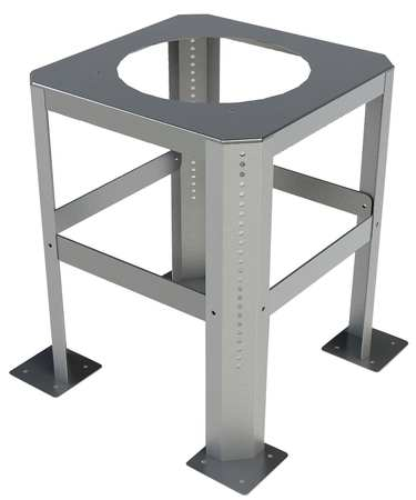 Tjernlund Rooftop Stand,  Galvanized Steel,  19 3/4 in W.x RTS12