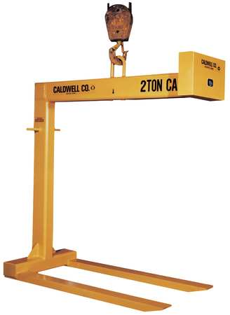 """Caldwell Pallet Lifter, Std Fixed Fork, 1T, L48"""" 90-1-48"""