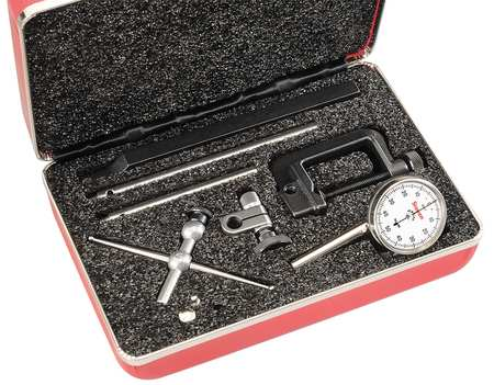 Dial Test Indicator,Vert,0 to 0.200 In STARRETT 196A5Z
