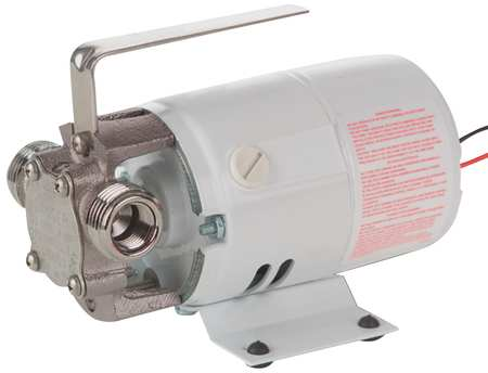 Utility Pump, Stainless Steel, 115 V