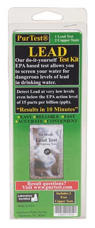 Purtest Water Test Kit, Lead and Copper 77701