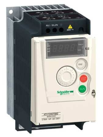 Variable Frequency Drive, 1/2HP, 115V In, Altivar