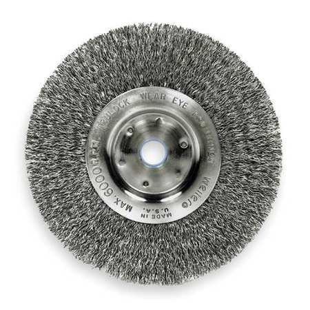 Astounding Weiler Crimped Wire Wheel Wire Brush Arbor 10 93494 Caraccident5 Cool Chair Designs And Ideas Caraccident5Info