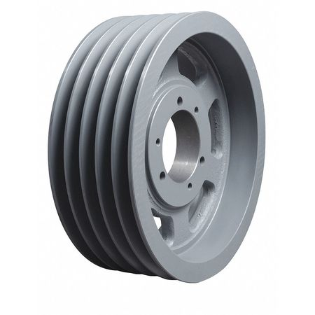 """Tb Wood'S 7/8"""" to 3-1/2"""" Quick Detachable Bushed Bore 5 Groove 15.00 in OD 5V1505"""