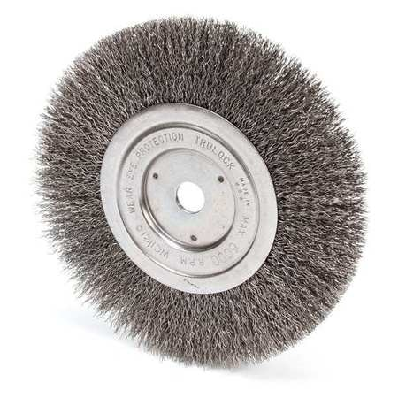 Remarkable Weiler Crimped Wire Wheel Wire Brush Arbor 7 93490 Zoro Com Caraccident5 Cool Chair Designs And Ideas Caraccident5Info