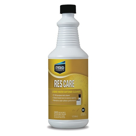 Pro Products Water Softener Cleaner, Liquid Resin RK32N
