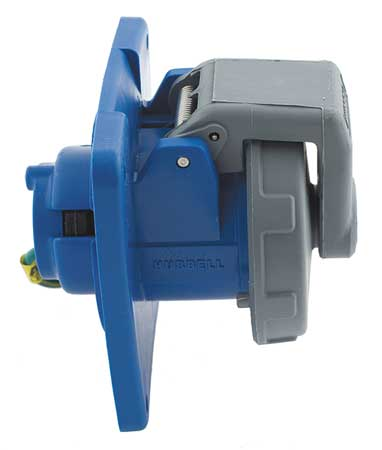 IEC Pin and Sleeve Receptacle, 100A, 250V