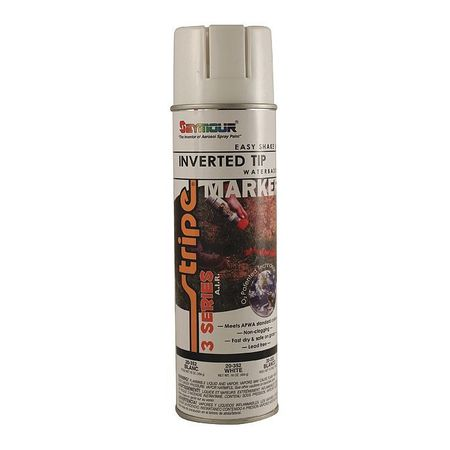 Seymour Of Sycamore Inverted Marking Paint,  16 oz.,  White,  Water -Based 20-352