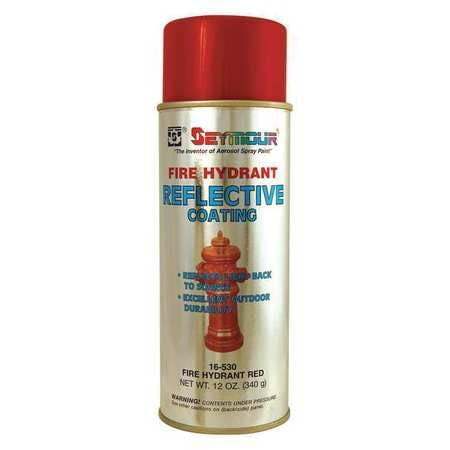 Seymour Of Sycamore Reflective Coating, Red, 16 oz. 16-530