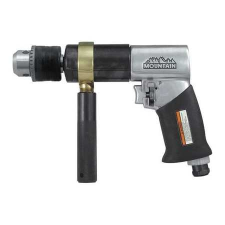 Mountain Reversible Air Drill, 1/2in, 500Rpm 7307
