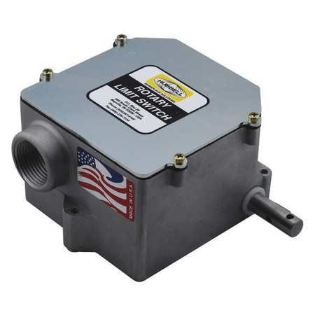 Gleason Limit Switch,  Rotary,  3NC/3NO,  DPDT 55-4E-3DP-WR-20-LD
