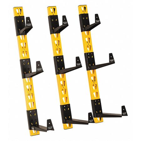 Wall Mount, Cantilever Rack, 3 pcs