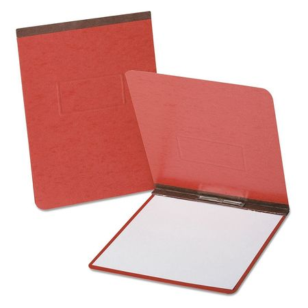 """Oxford Coated Report Cover 8-1/2 x 14"""",  Red 71634"""