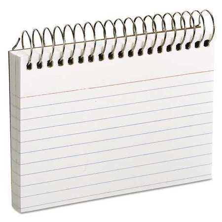 """Oxford Ruled Index Cards, 3x5"""", White 40282"""