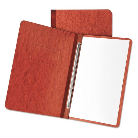 """Oxford Pressboard Report Cover 8-1/2 x 11"""",  Red,  Width: 2.37"""" 12934"""