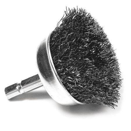 """Performance Tool Cup Wire Brush 2"""", Fine W1212"""