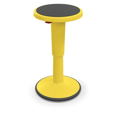 Pleasing Grow Stool Height Adjustable Tall Yellow Pabps2019 Chair Design Images Pabps2019Com