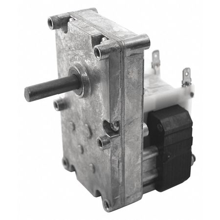 Dayton AC Gearmotor,  100.0 in-lb Max. Torque,  6.0 RPM Nameplate RPM,  115V AC Voltage,  1 Phase 52JE08