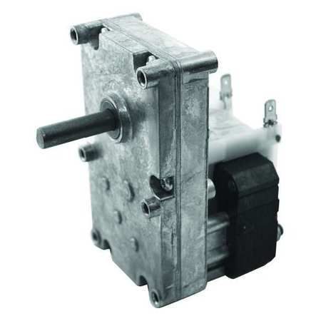 Dayton AC Gearmotor,  135.0 in-lb Max. Torque,  2.0 RPM Nameplate RPM,  115V AC Voltage,  1 Phase 52JE09