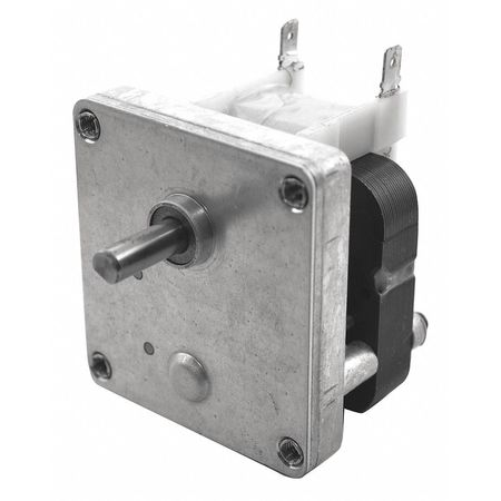 Dayton AC Gearmotor,  4.2 in-lb Max. Torque,  50 RPM Nameplate RPM,  115V AC Voltage,  1 Phase 52JE28