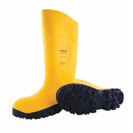 Tingley Size 6 Men's Steel Rubber Boot,  Yellow 77253