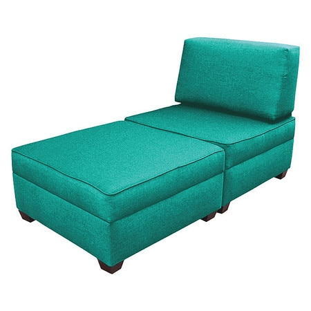 Prime Duobed Storage Chaise Sleeper Teal Green Performance Fabric Ocoug Best Dining Table And Chair Ideas Images Ocougorg