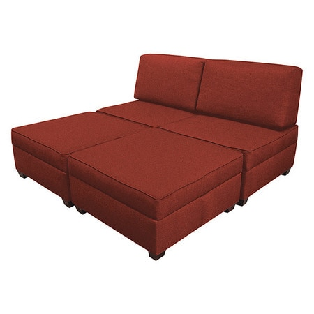 Admirable King Sleeper Sofa With Storage Red Performance Fabric Dailytribune Chair Design For Home Dailytribuneorg