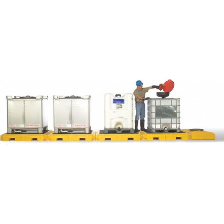 Ultratech IBC Containment Unit,  365 gal Spill Capacity,  Polyethylene 1127