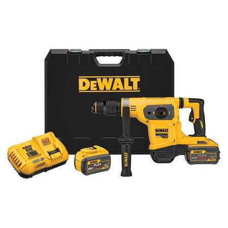 Dewalt 60V MAX* 1-9/16 in. Brushless SDS MAX Combination Rotary Hammer Kit DCH481X2