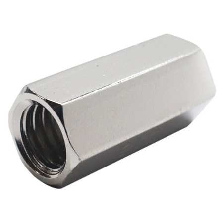 """FOREVERBOLT FB3CP71614 Coupling Nut,9//16/"""" W Across Flats,SS"""