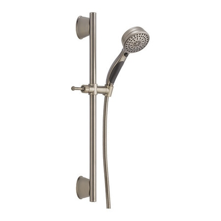 Delta Faucet Company Faucet,  Handshower Showering Component Faucet,  Stainless,  Slide Bar 51549-SS