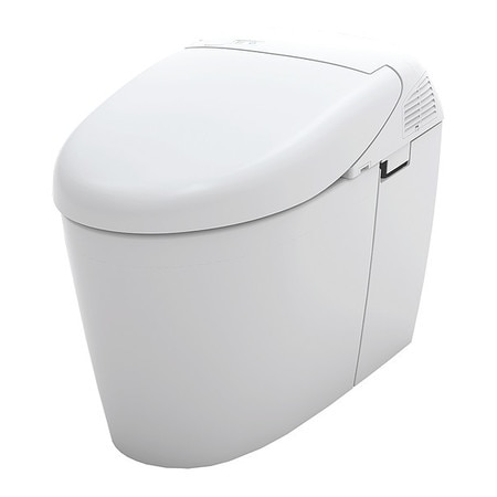 Toilet, Dual Flush, 500H, Elongated, Beige