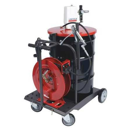 Lincoln Portable Grease Pump with Gun, 30 ft Hose 279091