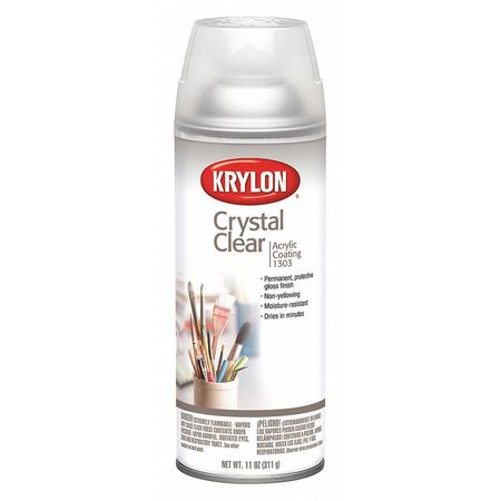 Spray Paint Crystal Clear Gloss