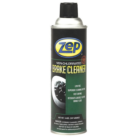 Zep Liquid 14 oz. Engine Cleaner and Degreaser,  Aerosol Can ,  PK12 1047993