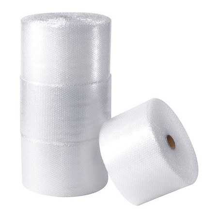 """Partners Brand UPSable Perforated Air Bubble Rolls,  3/16"""" x 12"""" x 300',  Clear,  4/Each BWUP316S12P"""